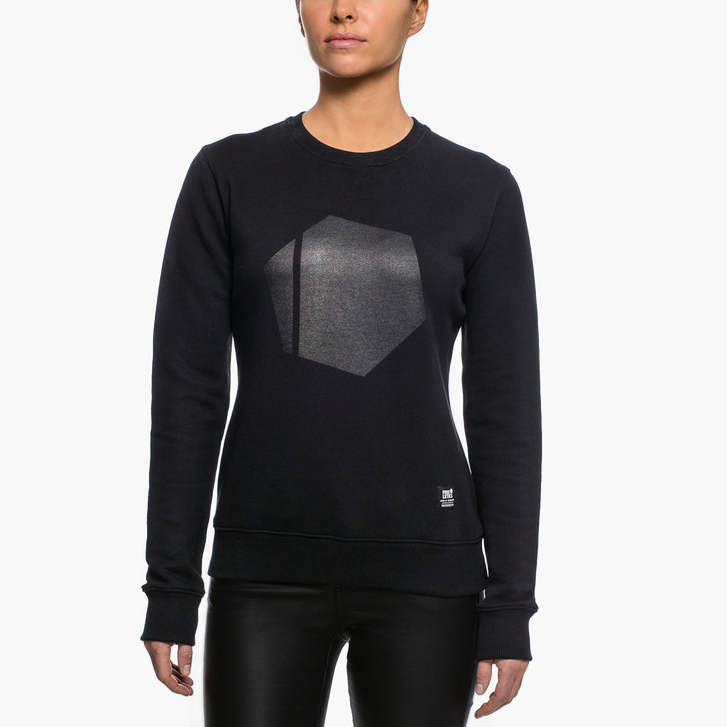 All Black Crewneck - Freeletics Wear