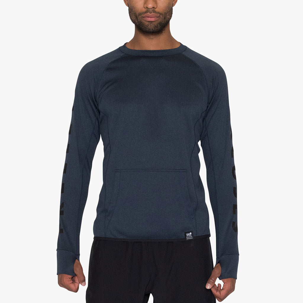Light Crewneck Dark Denim