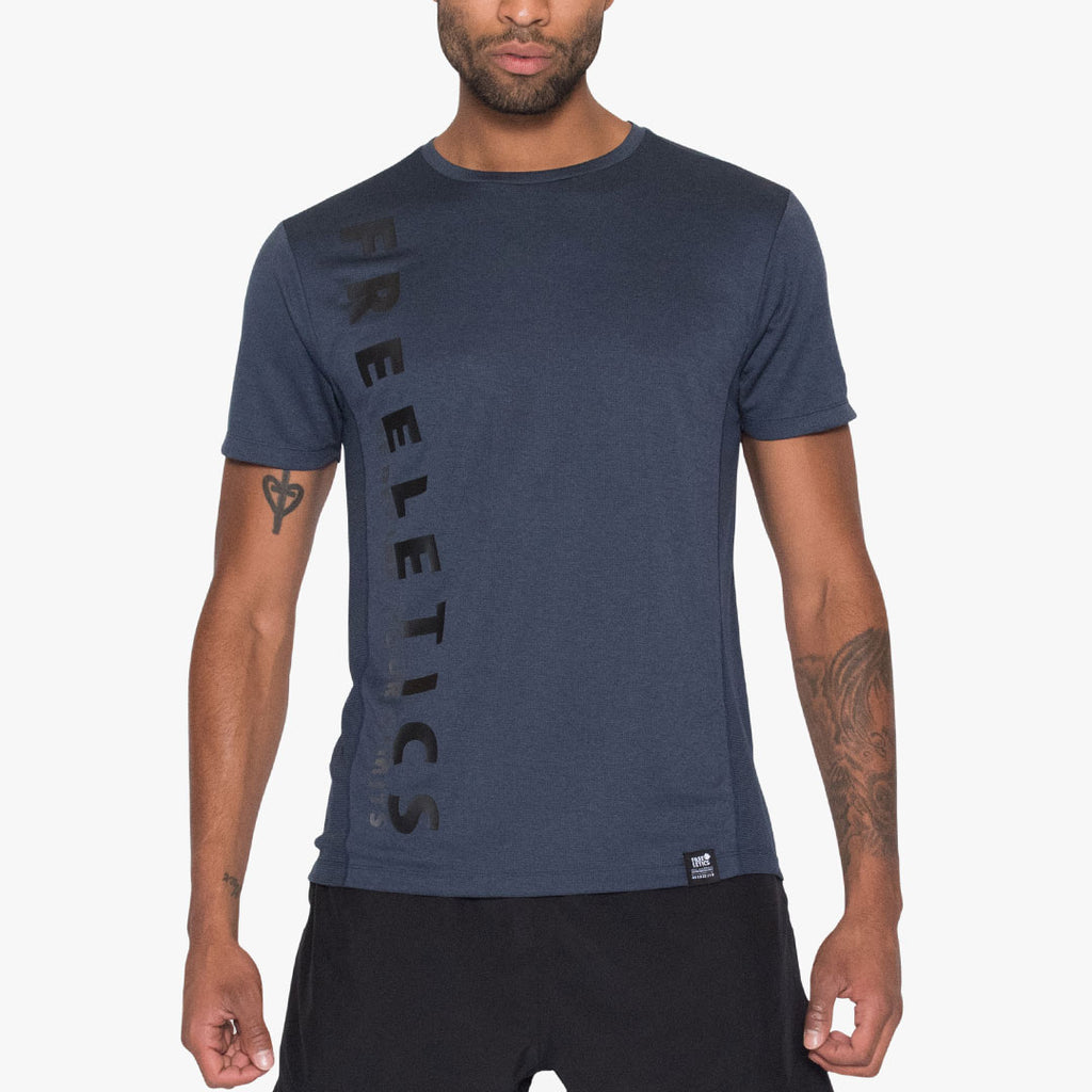 Limitless Tee Dark Denim