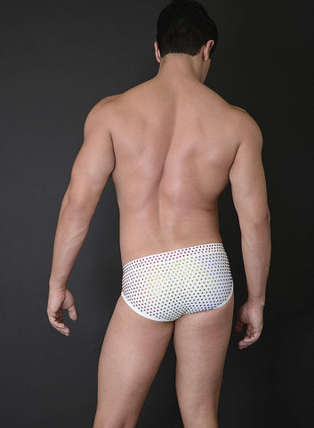 BILLY SWIM RACER WITH CRYSTALS - PRIDE LIMITED EDITION