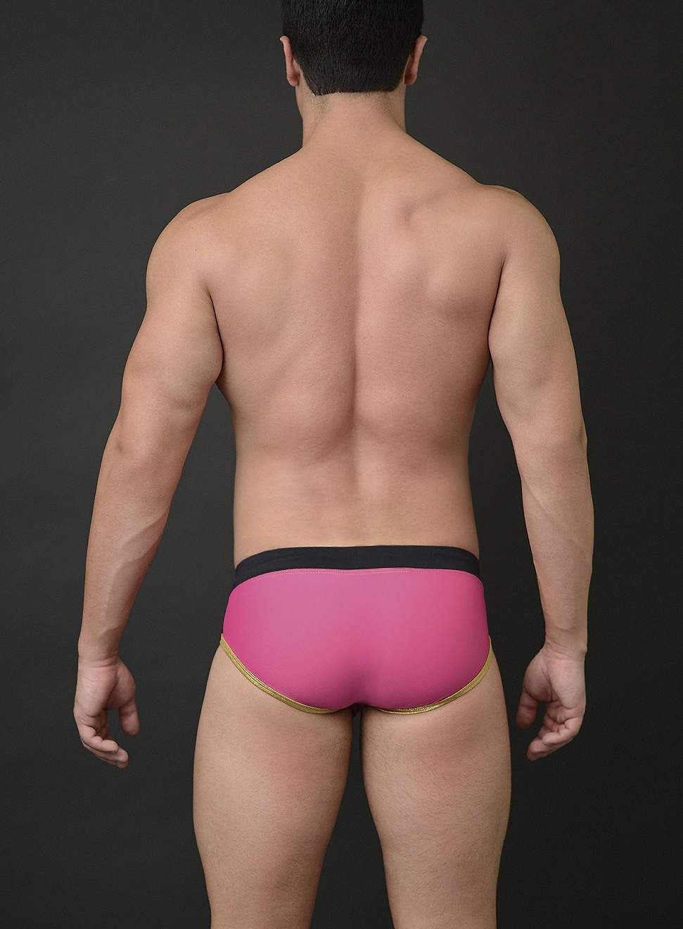 Billy Swim Racer Color Block