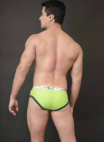 Drew Swim Trunk Color Block