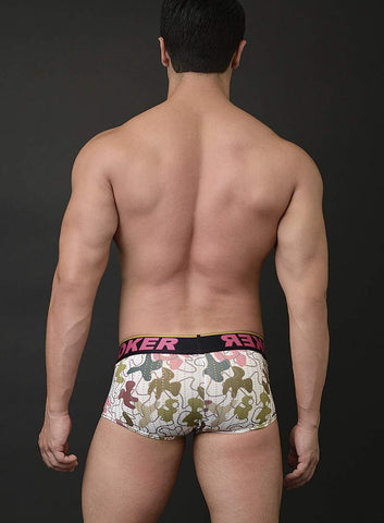 Evan Boxer Camo Print with Crystals