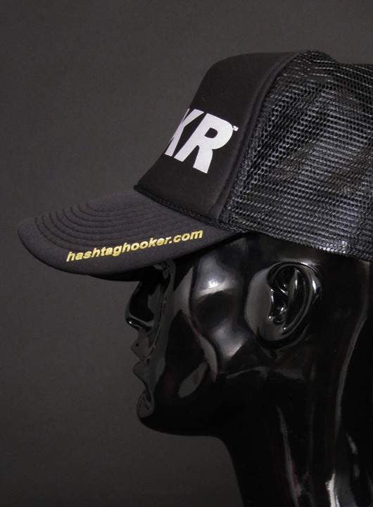 HKR TRUCKER CAP WITH GLOW-IN-DARK LOGO