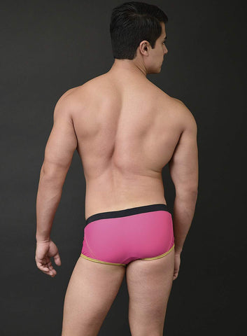 MICK SWIM TRUNK COLOR BLOCK