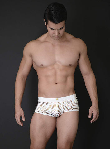 Mick Swim Trunk with Crystals