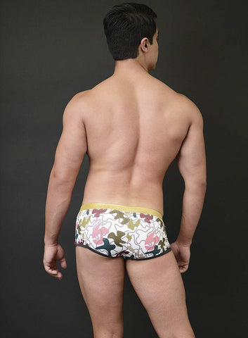 Mick Swim Trunk Camo Print