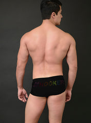 MICK SWIM TRUNK WITH CRYSTAL LOGO - PRIDE LIMITED EDITION