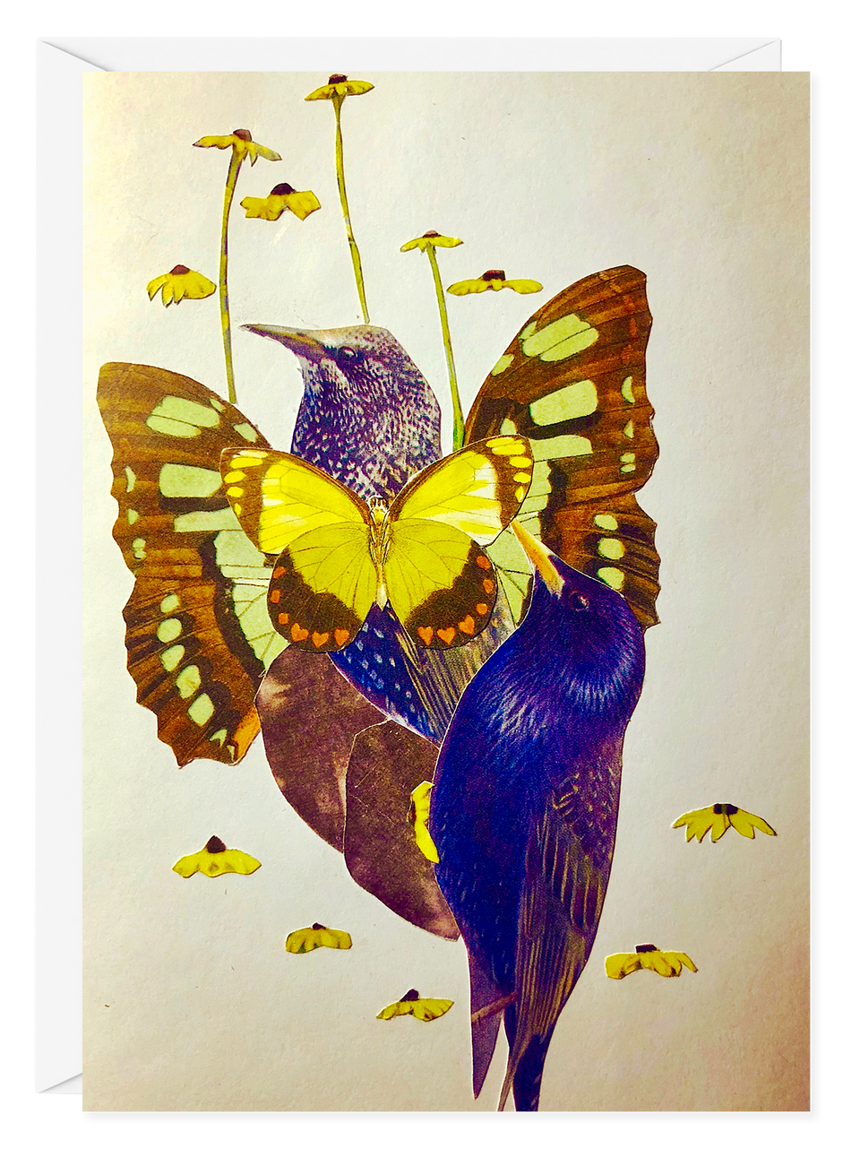 "Fran Gealer ""Starling"" Greeting Card"