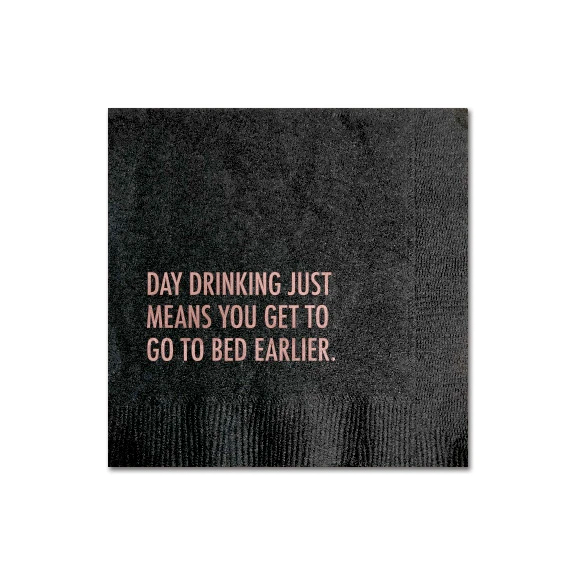 Day Drinking Cocktail Napkin