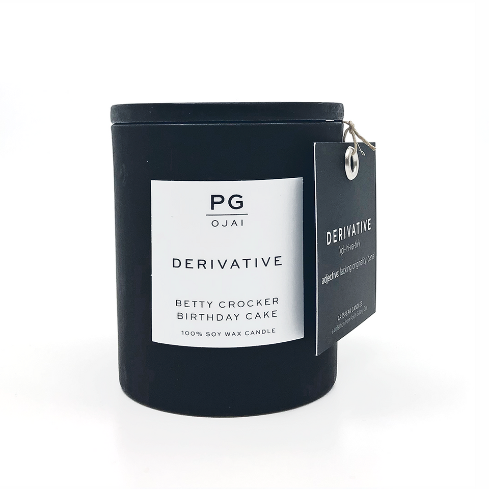 Artspeak Candle - Derivative