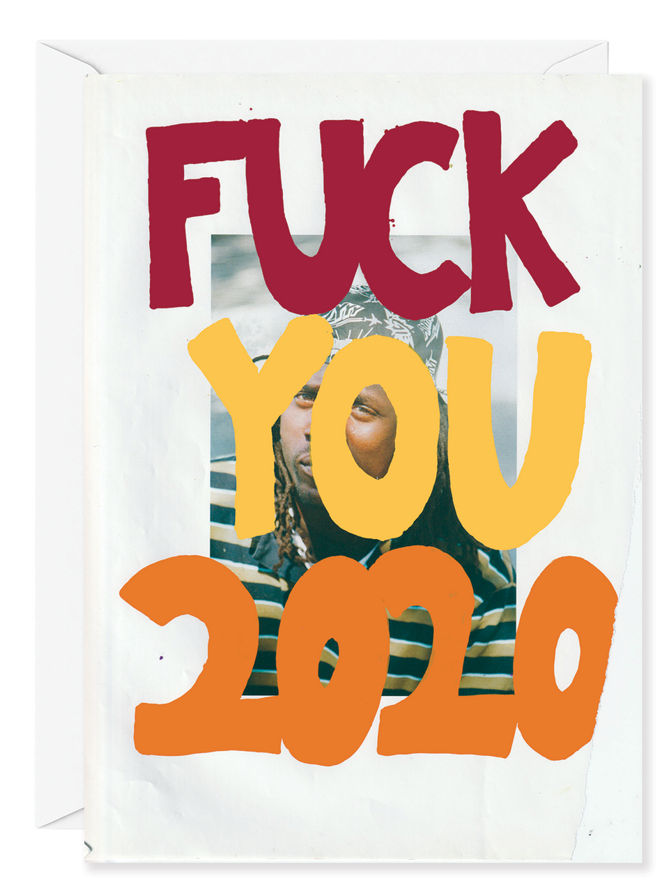 "Kirsten Stoltmann ""F*ck You 2020"" Greeting Card"