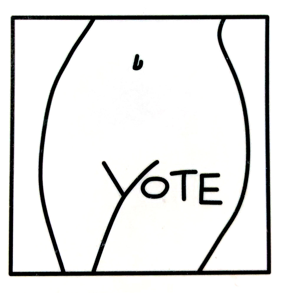 """Vote"" Temporary Tattoo"