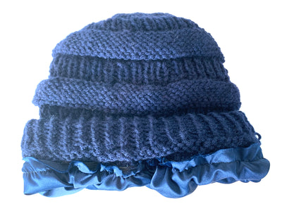 Satin Lined Winter Beanie