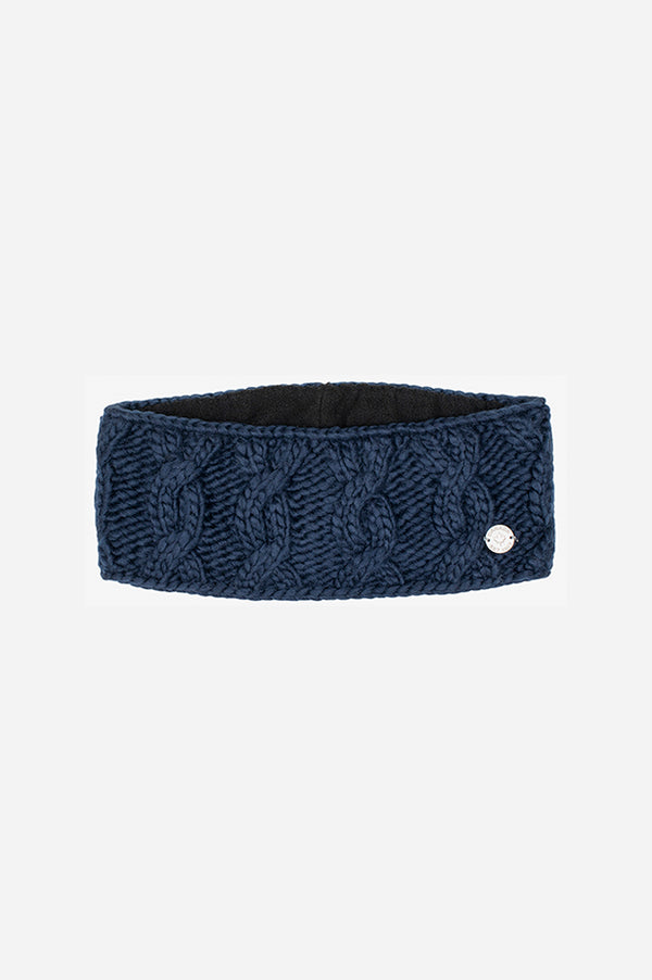 Cable Headband Navy
