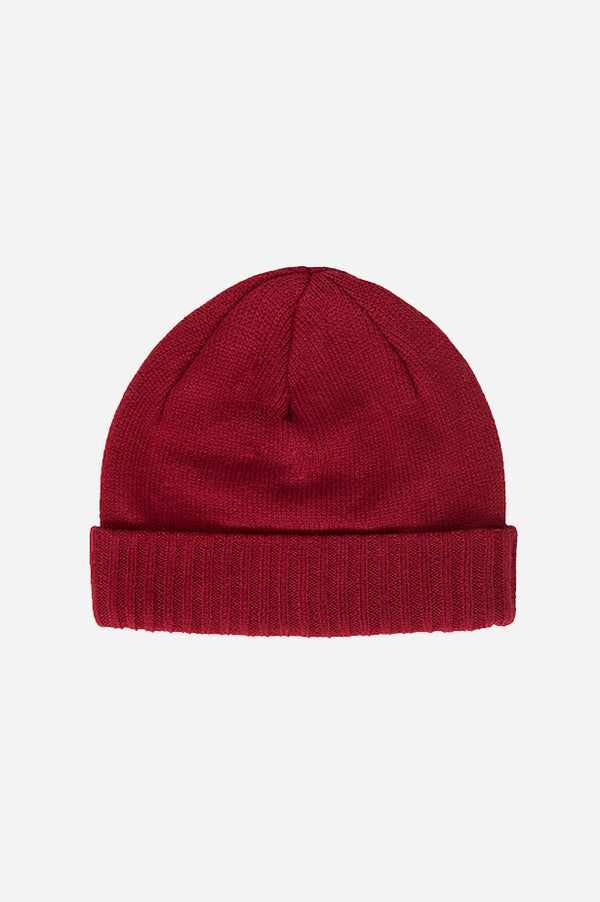 Cuff Slouch Beanie Red