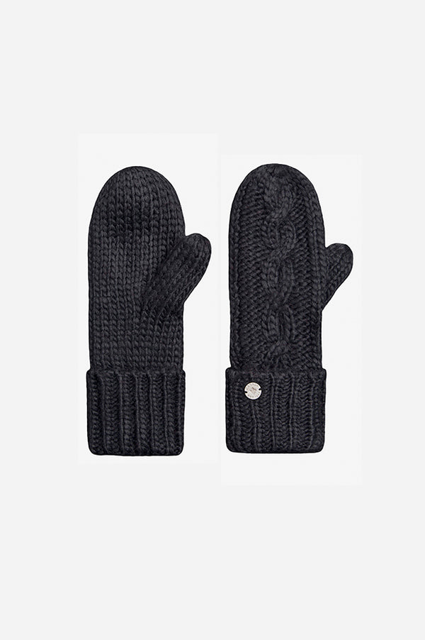 Cable Mitt Black