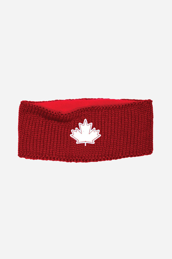GET RED! Canada Chunky Headband Red