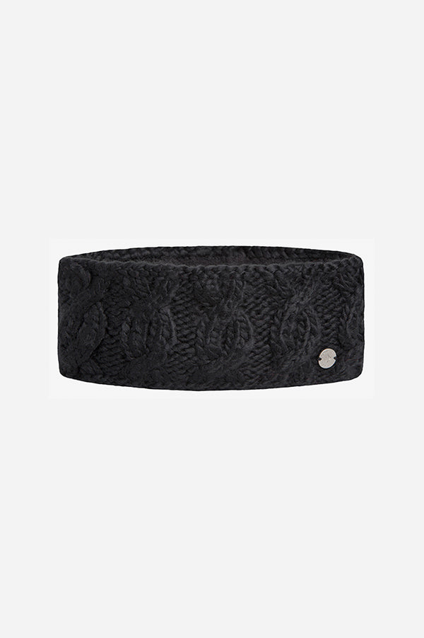 Cable Headband Black