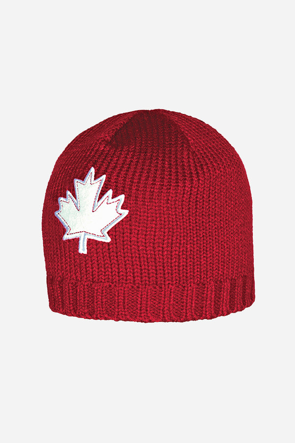 GET RED! Canada Chunky Beanie Red