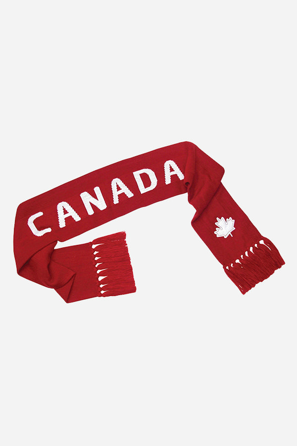 GET RED! Canada Scarf Red