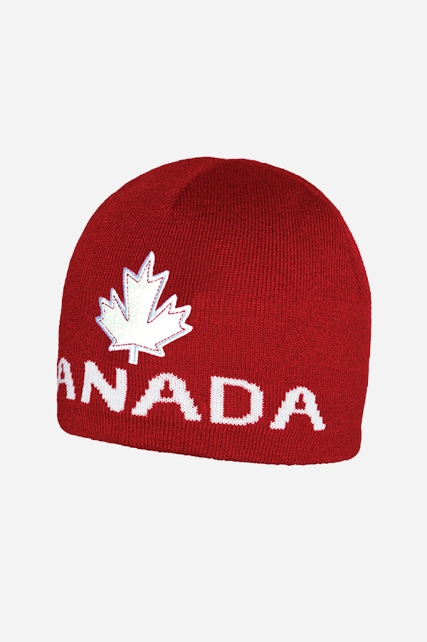 GET RED! Canada Beanie Red