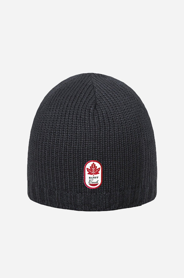 Banff Patch Beanie Black