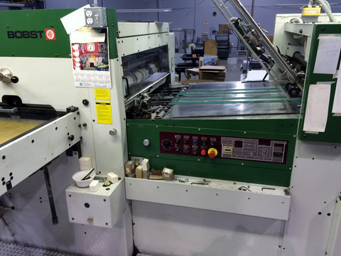 Picture of Bobst Diecutters