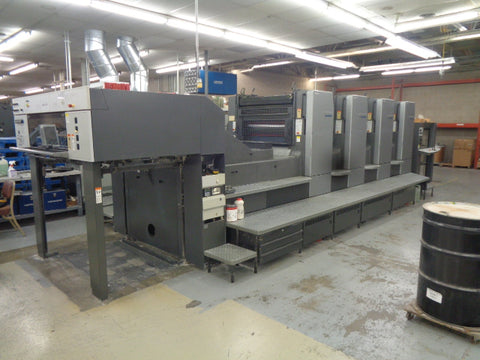 Picture of Heidelberg SM 102 -4P 4 Color Perfector