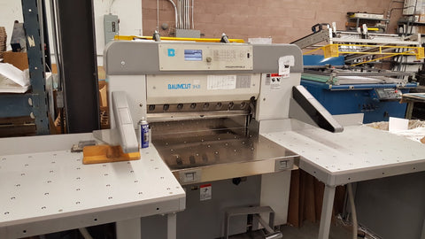 Picture of Baum 31.5 Baumcut  Programmable Cutter w/large side air tables