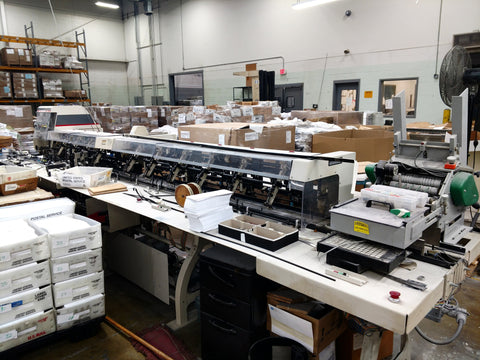 Picture of Bell Howell  Phillipsburg Mail Master III Inserter