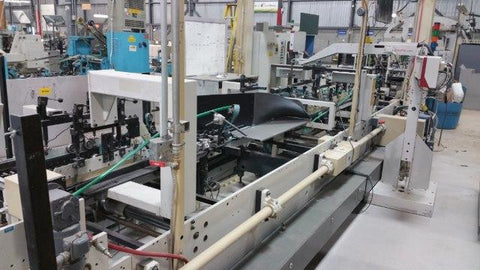 Picture of 1995 Bobst Domino 90 Straight Line, auto bottom Gluer