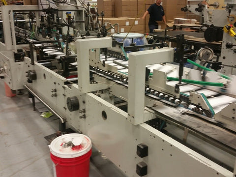 Picture of Bobst Media 100 II Folder Gluer with Auto-bottom