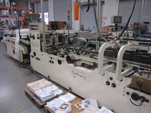 Picture of Brausse Folder Gluer Straight Line Combo -650 HHS Glue