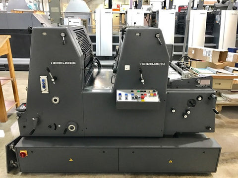 Picture of Heidelberg GTOV 2 Color Press