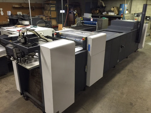 Picture of HP Indigo  UV coating machine - Just Sold