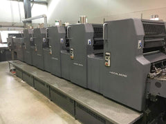 Heidelberg MOFPH+L Five Color w Plus Coater