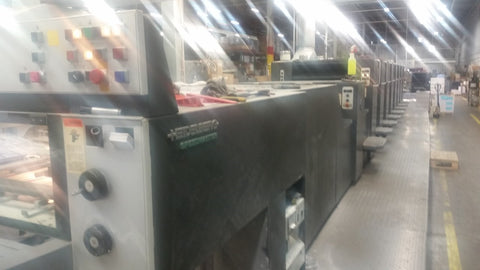 Picture of Heidelberg 74 -8PL 8 color plus coater asking $1900/mo.