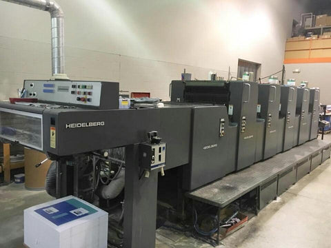Picture of Heidelberg MOFPH+L Five Color w Plus Coater