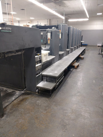 Picture of Heidelberg SM 102 6-P-L Six color plus aq. coater