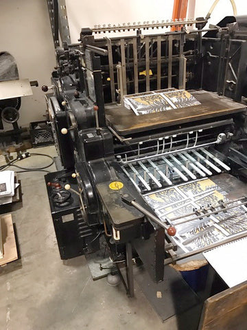 Picture of Heidelberg SB 28 Inch wide Diecutter