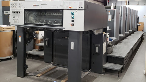 Picture of 2007 Heidelberg CD 102-Five Color +Aqueous Coating