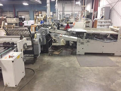 Heidelberg RD78- 30 Inch wide Continuous Feed folder 6/4/4