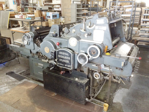 Picture of Heidelberg 18 x 25 KSD Diecutter -Gray model