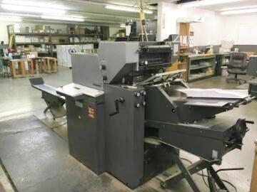 Picture of Heidelberg Printmaster 2 color press