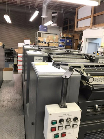 Picture of 1999/2000 Heidelberg 52 Speedmaster 4/Color w/Console