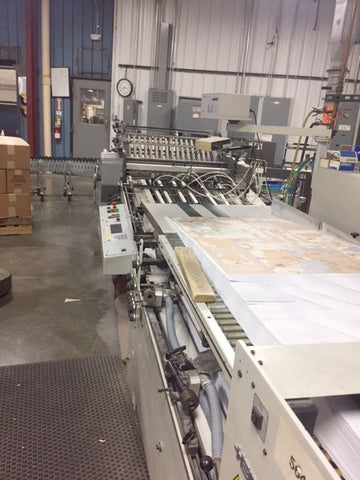 Picture of 2005 Heidelberg 30 Inch Folder 6/6/4  model T-78