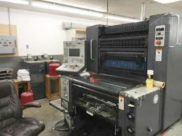 Picture of Heidelberg 74 Two Color Press