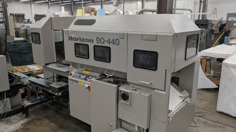 Picture of HORIZON BQ 440 Perfect Binder Excellent Condition