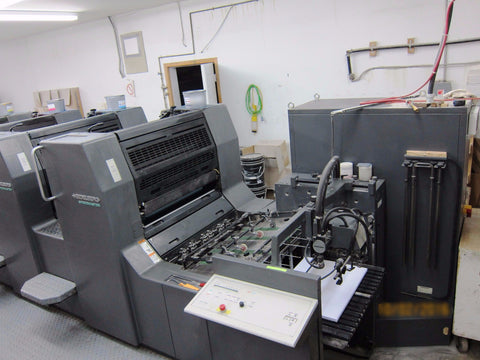 Picture of 2000 Heidelberg Speedmaster SM 74-4 -P H Color